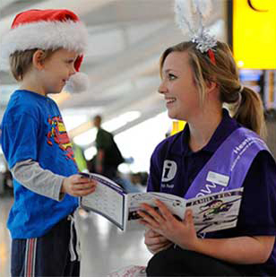 Team Heathrow volunteer